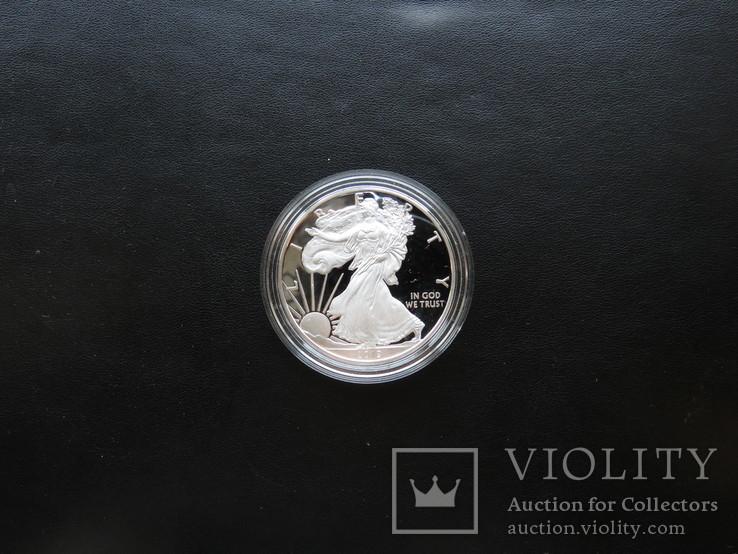 Один доллар 2019год США пруф, фото №4