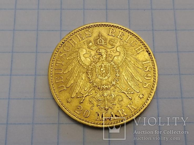 20 марок 1898