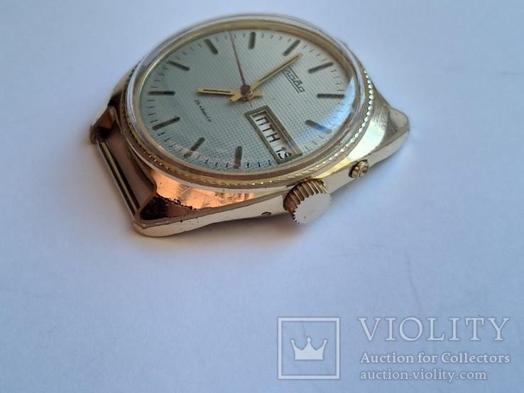 Часы Слава позолота Au5, фото №3