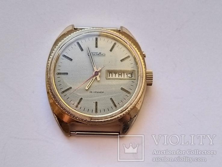 Часы Слава позолота Au5, фото №5