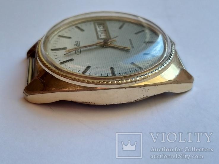 Часы Слава позолота Au5, фото №6