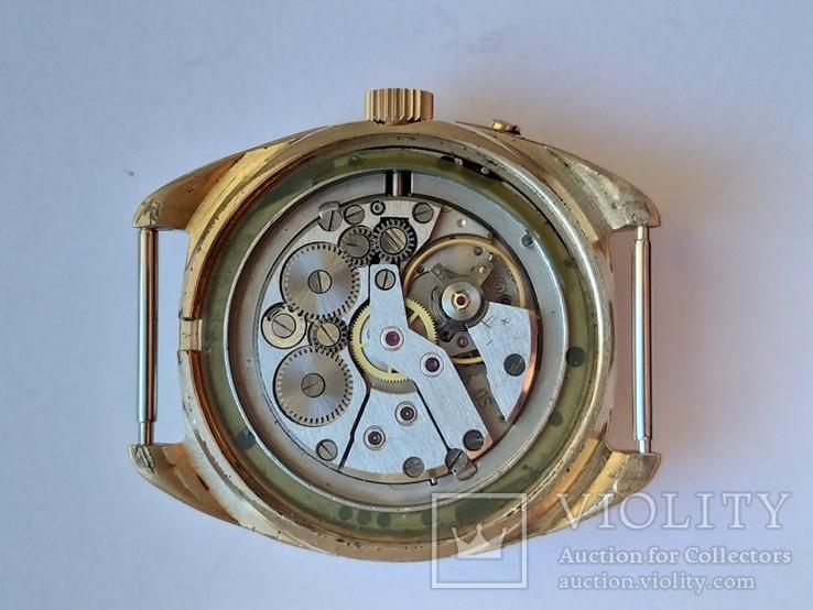 Часы Слава позолота Au5, фото №9