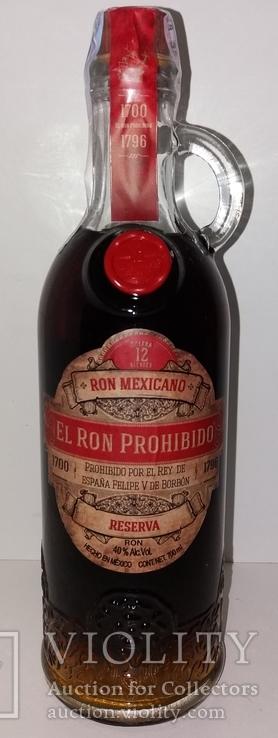 Ром El Ron Prohibido Solerа Reserva 12 years, 1 литр, Мексика, фото №2