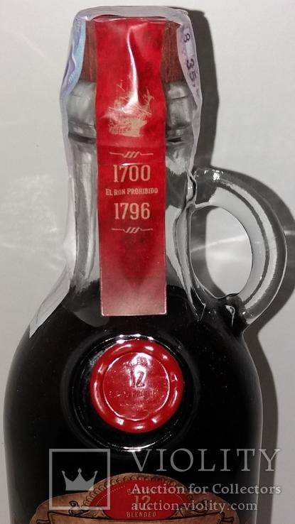 Ром El Ron Prohibido Solerа Reserva 12 years, 1 литр, Мексика, фото №3