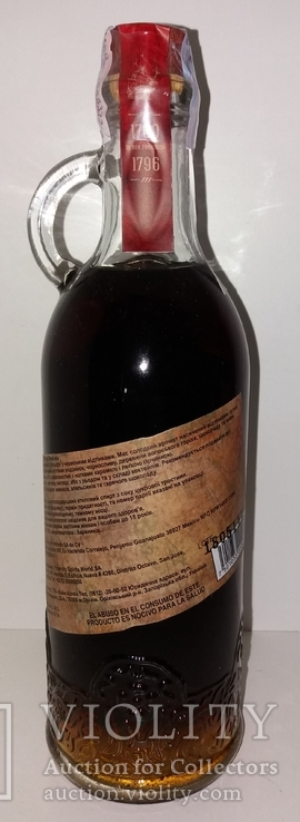 Ром El Ron Prohibido Solerа Reserva 12 years, 1 литр, Мексика, фото №4