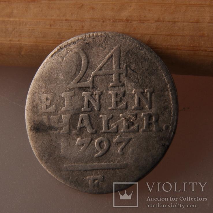 1/24 Талер 1797 г., фото №4