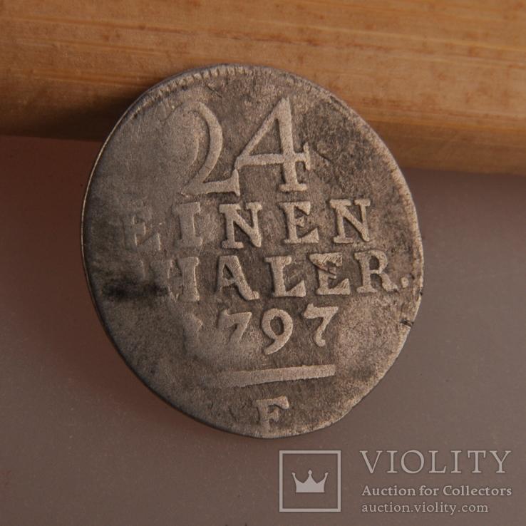 1/24 Талер 1797 г., фото №5