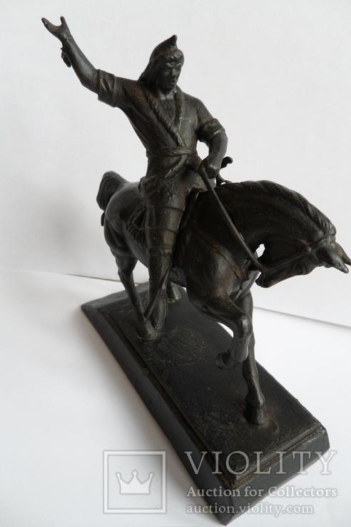 Чугунная статуэтка Салават Юлаев, фото №3