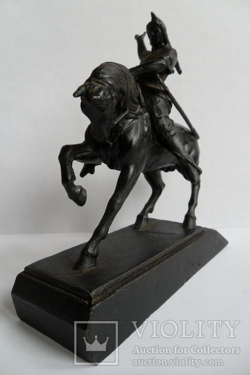 Чугунная статуэтка Салават Юлаев, фото №4