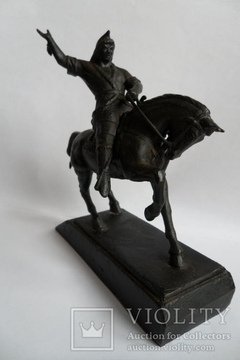 Чугунная статуэтка Салават Юлаев, фото №7