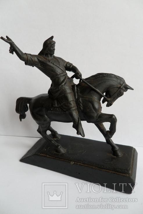 Чугунная статуэтка Салават Юлаев, фото №10