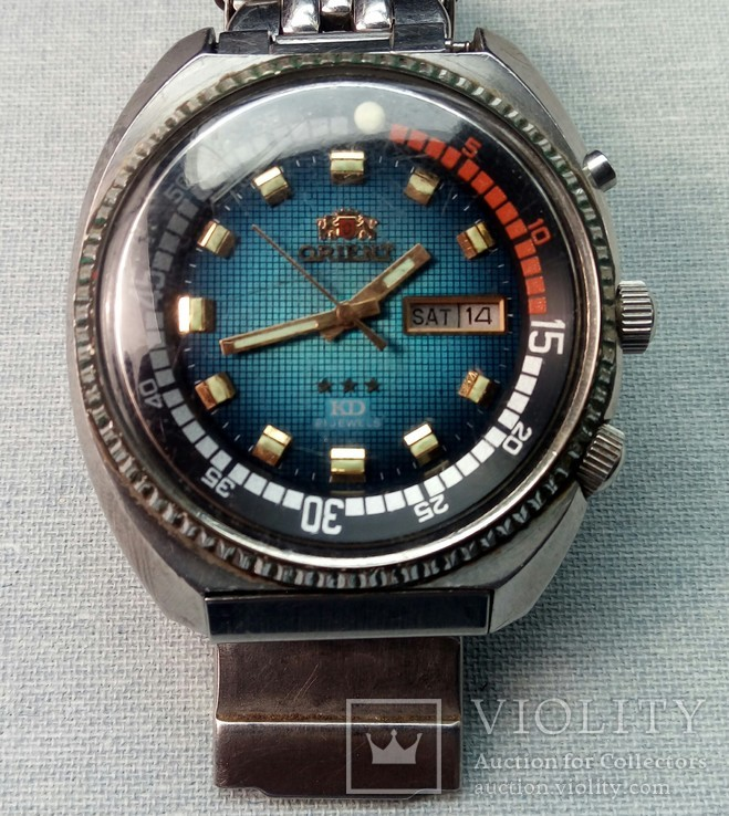 Часы Orient KD ( king diver) , automatic , 21 jewels.