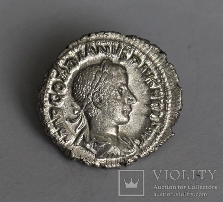 Гордиан III денарий RIC 129