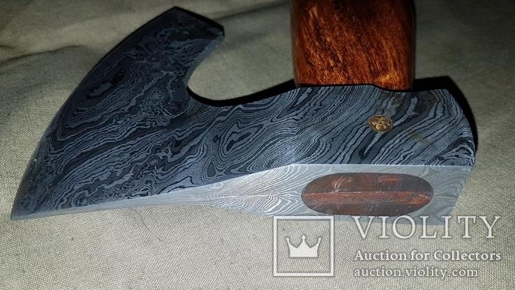 Топор из дамасской стали, фото №7