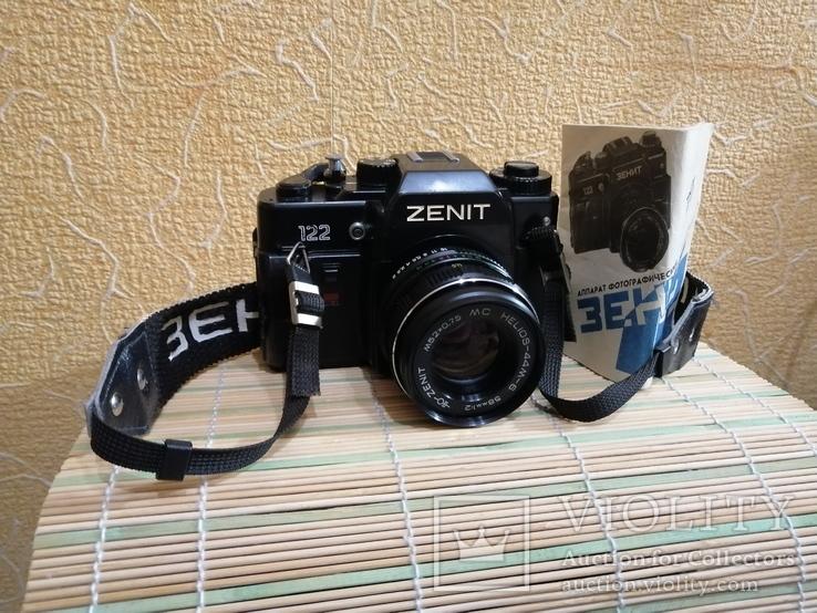 Zenit 122 рабочий с паспортом
