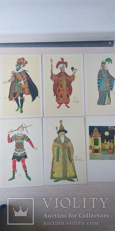 Комплект открыток 16шт., фото №5