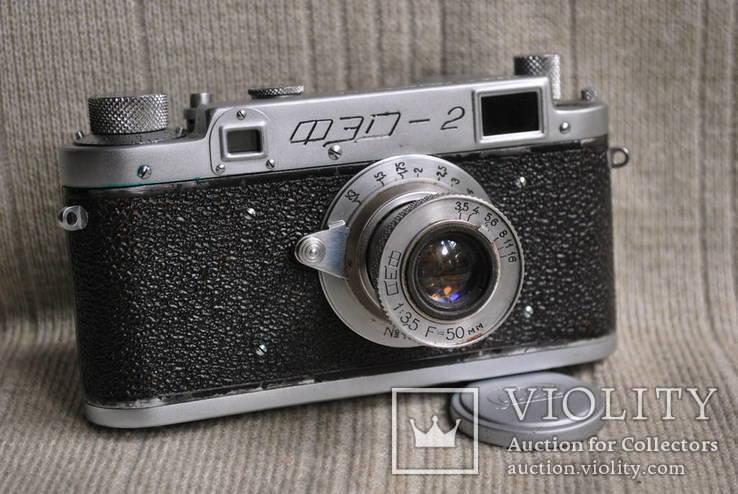 ФЭД-2 квадратное окно дальномера, № 004059, комплект., фото №4