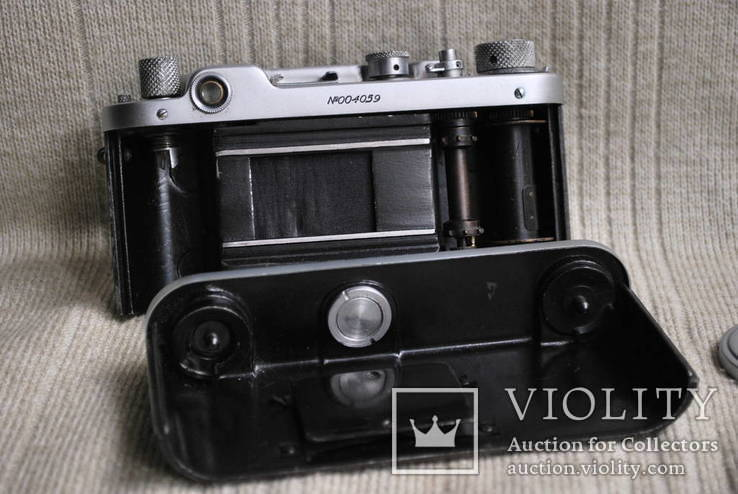 ФЭД-2 квадратное окно дальномера, № 004059, комплект., фото №10