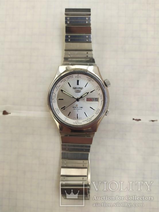 Часы Seiko мировое время