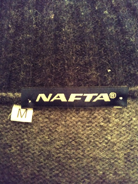 Свитер теплый NAFTA Италия шерсть р-р М, фото №8