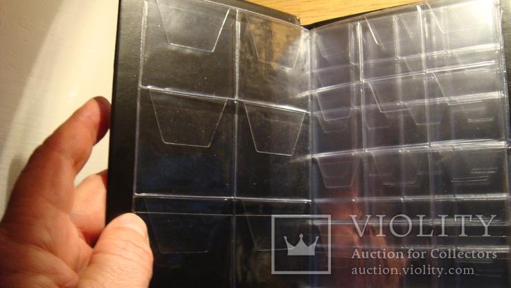 Альбом 8 листів на 108 монет -- мікс, фото №4