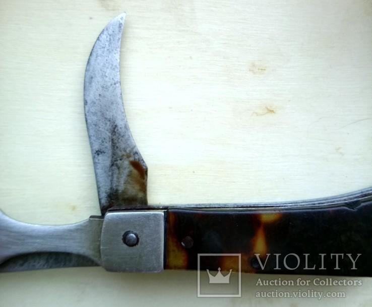 Складной нож вилка Аэрофлот советский, фото №7