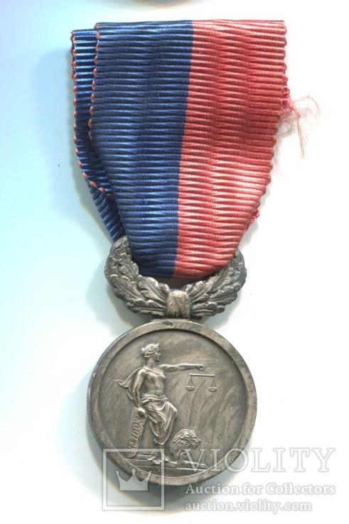 Франция. Медаль Конгресса 1935 Национального союза Полезных людей. Редкая медаль