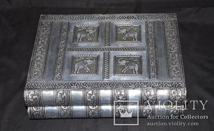 Большая шкатулка для ювелирных изделий. Старая Индия., фото №2