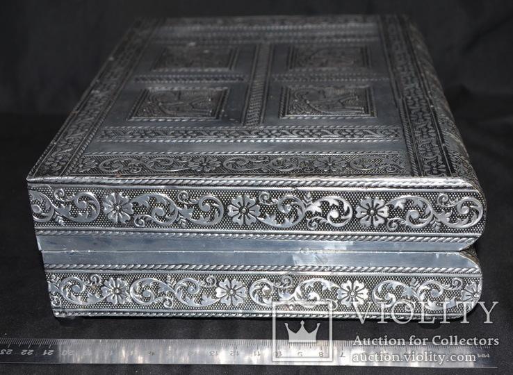 Большая шкатулка для ювелирных изделий. Старая Индия., фото №8