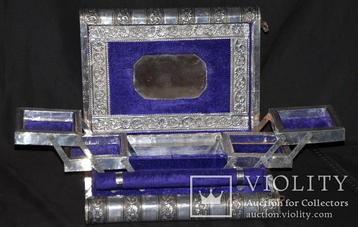 Большая шкатулка для ювелирных изделий. Старая Индия., фото №9