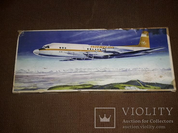 Коробка от модели самолета ил - 18