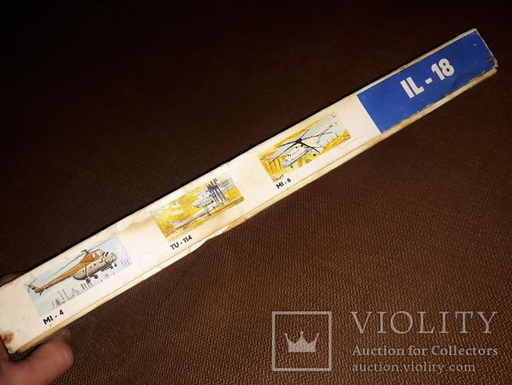 Коробка от модели самолета ил - 18, фото №4