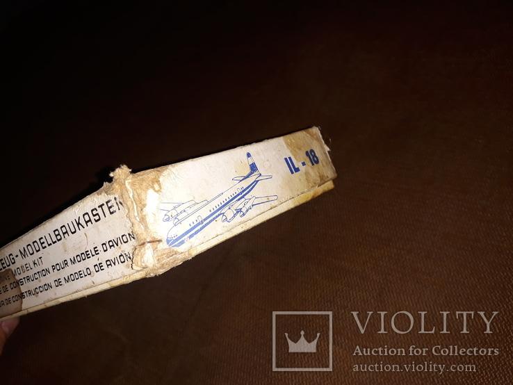 Коробка от модели самолета ил - 18, фото №5