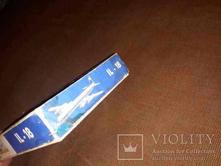 Коробка от модели самолета ил - 18, фото №7