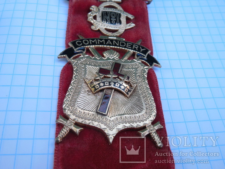 Орден рыцарей храма командорство г. Детроит №1 Начало ХХ века, фото №6