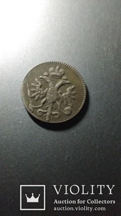 5 копеек 1714 года монеты Петра 1 копия, фото №3