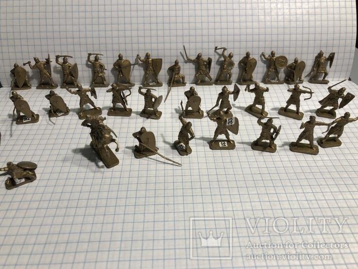 Викинги 31 шт. миниатюры