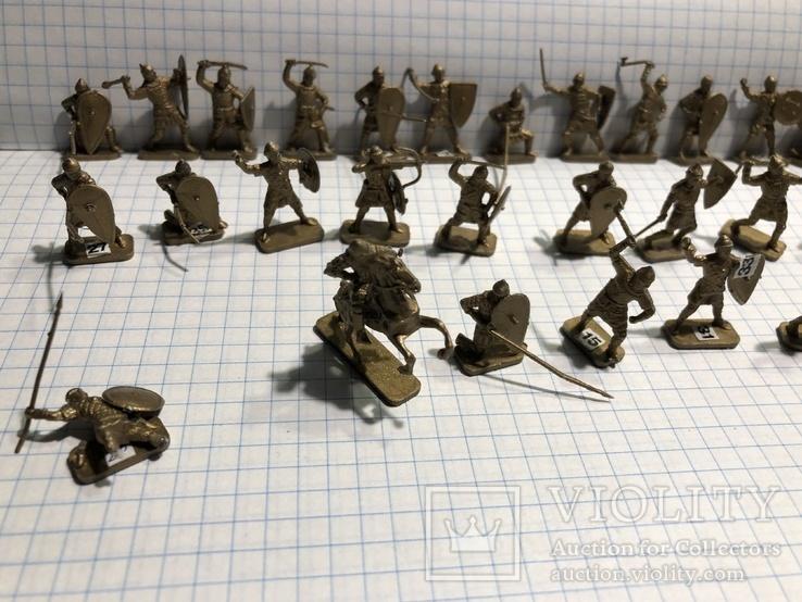 Викинги 31 шт. миниатюры, фото №4