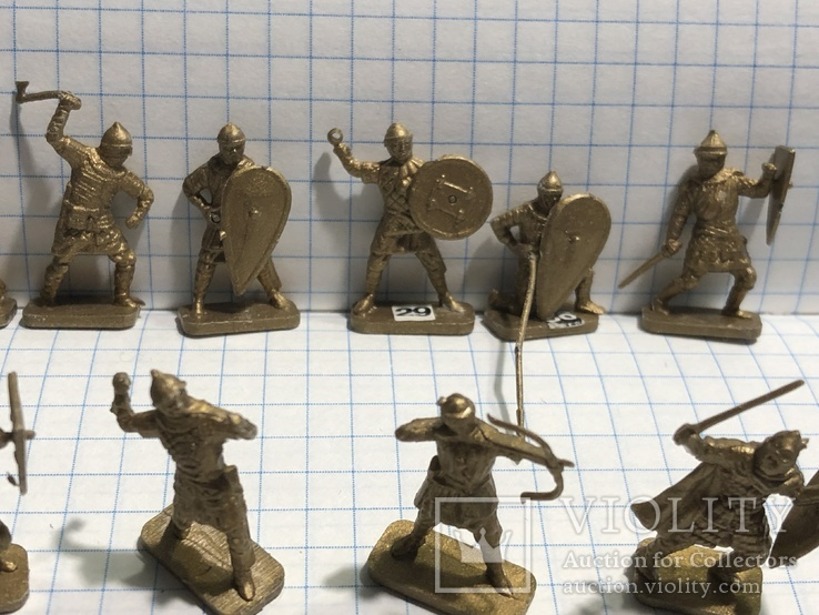 Викинги 31 шт. миниатюры, фото №9