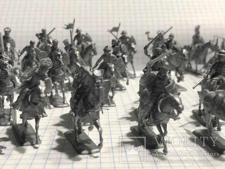 Европейская армия 44 шт, фото №2