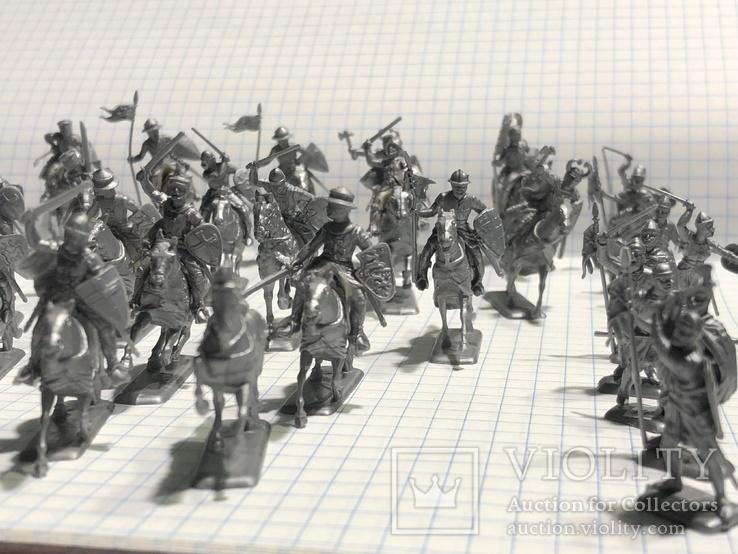 Европейская армия 44 шт, фото №6