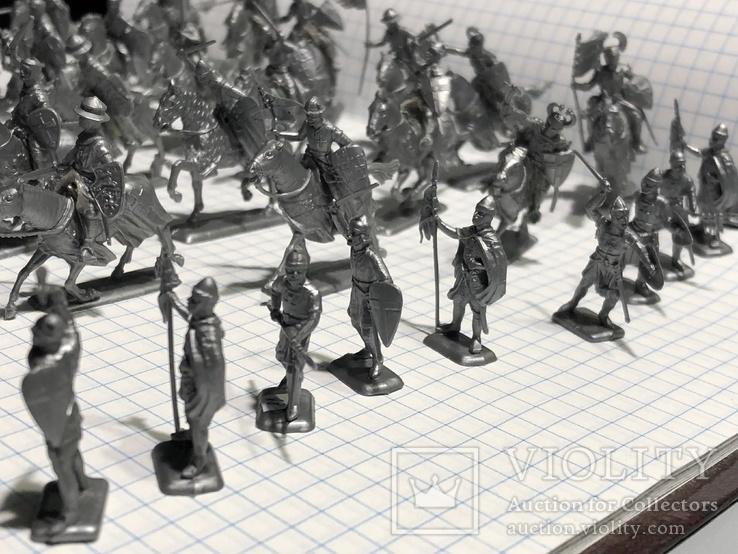 Европейская армия 44 шт, фото №7