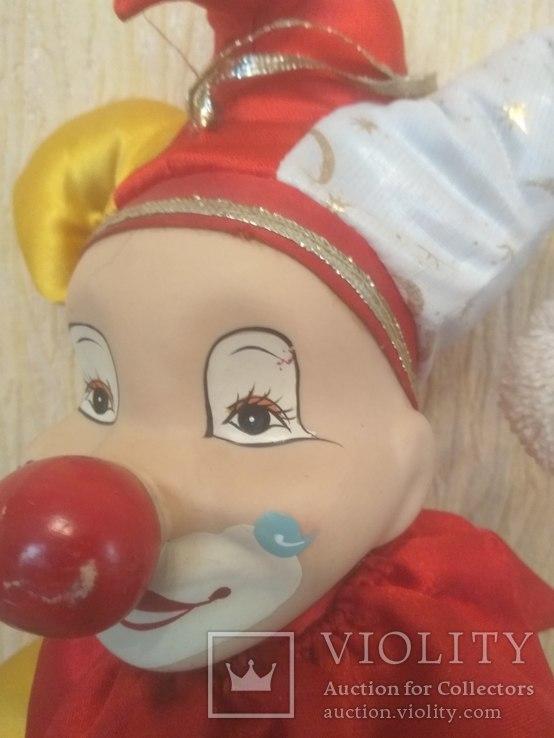 Кукла АРЛЕКИН 50см, фото №5