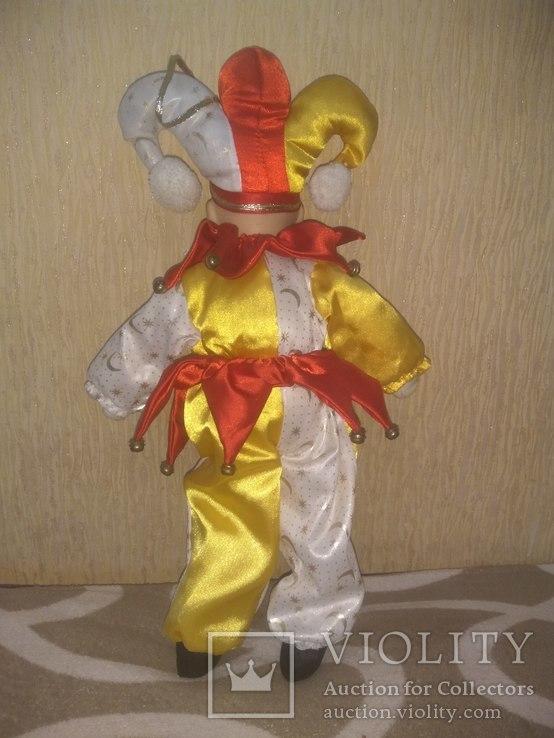 Кукла АРЛЕКИН 50см, фото №8