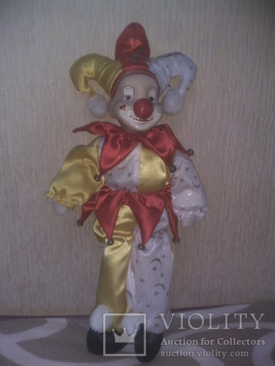 Кукла АРЛЕКИН 50см