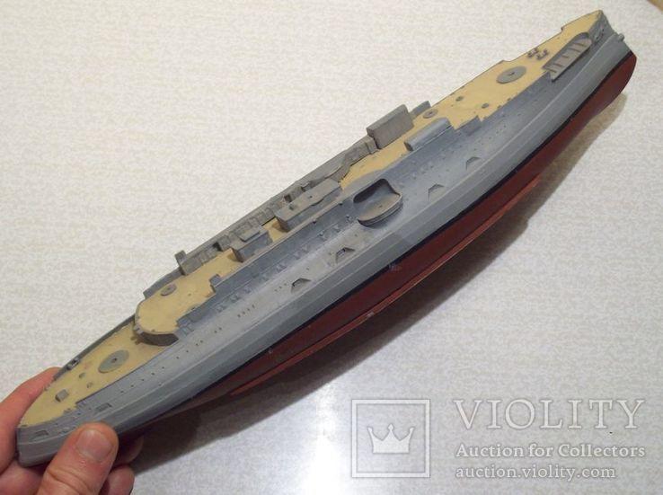 Сборная модель корабля броненосца Цесаревич, фото №5