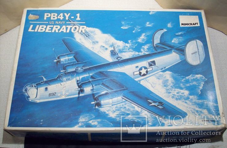 Сборная модель самолёта pb4y-1 Liberator, фото №2