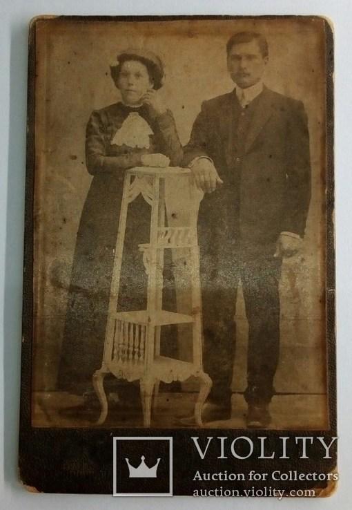 Фото мужчины и женщины 1900 гг. Николаевъ (2), фото №2