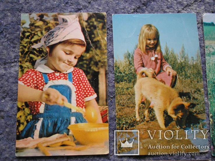 Дети.Счастливое детство.14 открыток., фото №3