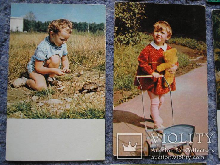 Дети.Счастливое детство.14 открыток., фото №5